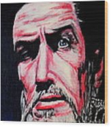 Master Of The Macabre-vincent Price  Wood Print