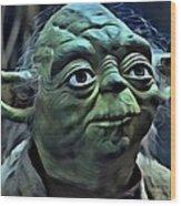 Master Yoda Wood Print