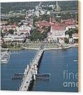 Matanzas Harbor St Augustine Florida Wood Print