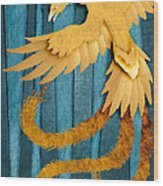 Material Fenix Wood Print