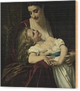 Maternal Affection Wood Print