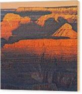 Mather Point Sunrise Grand Canyon National Park Wood Print
