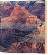 Mather Point Twilight Wood Print