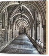 Mathey College Hall Wood Print