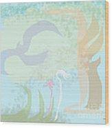 Matisse Meets Martha Stewart Wood Print