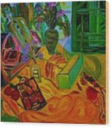 Matisse Table Wood Print