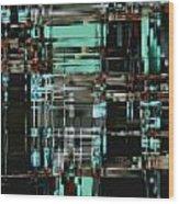 Matrix 1 Wood Print