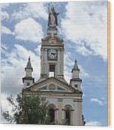 Matriz Cathedral In Cotacachi Wood Print
