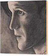 Matt Smith Wood Print
