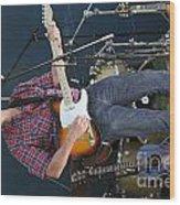 Musician Matt Turk Wood Print