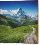 Matterhorn II Wood Print