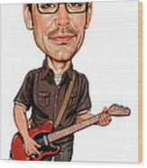 Matthew Good Wood Print