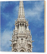 Matthias Church Bell Tower In Budapest Wood Print by Artur Bogacki