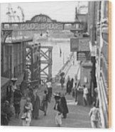 Maude Bridge In Baghdad Wood Print