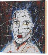 Maude - Detail No. 1 Wood Print