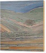 Maui Hills Wood Print