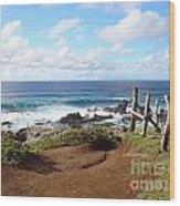 Maui Vista Wood Print