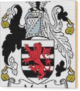 Maule Coat Of Arms Irish Wood Print