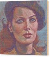Maureen O'hara Wood Print