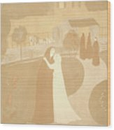 Maurice Denis French, 1870 - 1943. The Visitation La Wood Print