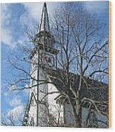 Mauricetown Church  Wood Print