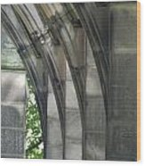 Mausoleum Arches Wood Print