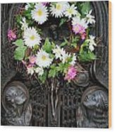 Mausoleum Mosaic Wood Print