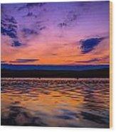 Mauthe Lake Wood Print