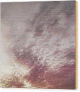 Mauve Skies Wood Print