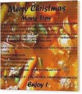Mavis Stew Wood Print