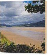Mawddach Estuary Wood Print