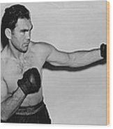 Max Schmeling 1938 Wood Print by Mountain Dreams