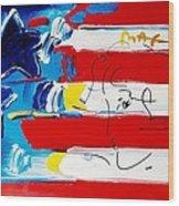 Max Stars And Stripes Wood Print