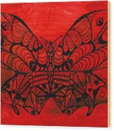 Max The Butterfly Wood Print by Kenal Louis