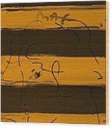 Max Woman In Orange Wood Print