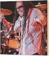 Maxi Priest Wood Print