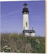 May At The Lighthouse Wood Print