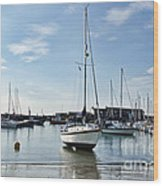 May Morning - Lyme Regis 2 Wood Print