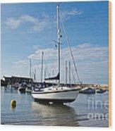 May Morning - Lyme Regis Wood Print