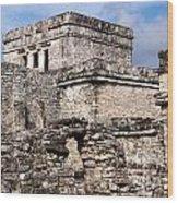 Mayan Tulum Wood Print