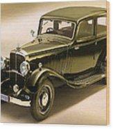 Maybach Car 6 Wood Print
