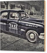 Mayberry Taxi Wood Print