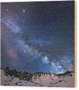 Mayflower Gulch Milky Way Wood Print