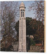 Mayflower Memorial Southampton England Wood Print