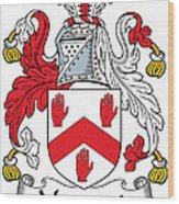 Maynard Coat Of Arms Irish Wood Print