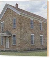 Maysville Schoolhouse Wood Print