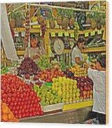 Mazatlan Centro Market-sinaloa Wood Print