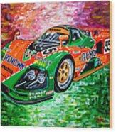 Mazda 787b.1991 Le Mans Winner. Wood Print