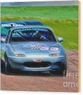 Mazda Speed Wood Print