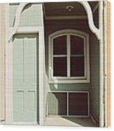 Mazomanie Door 1 Wood Print